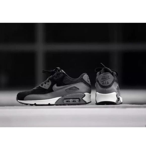 40b48814f3 Nike Shoes   Air Max 90 Leather Suede Sneaker Hematite Euc   Poshmark